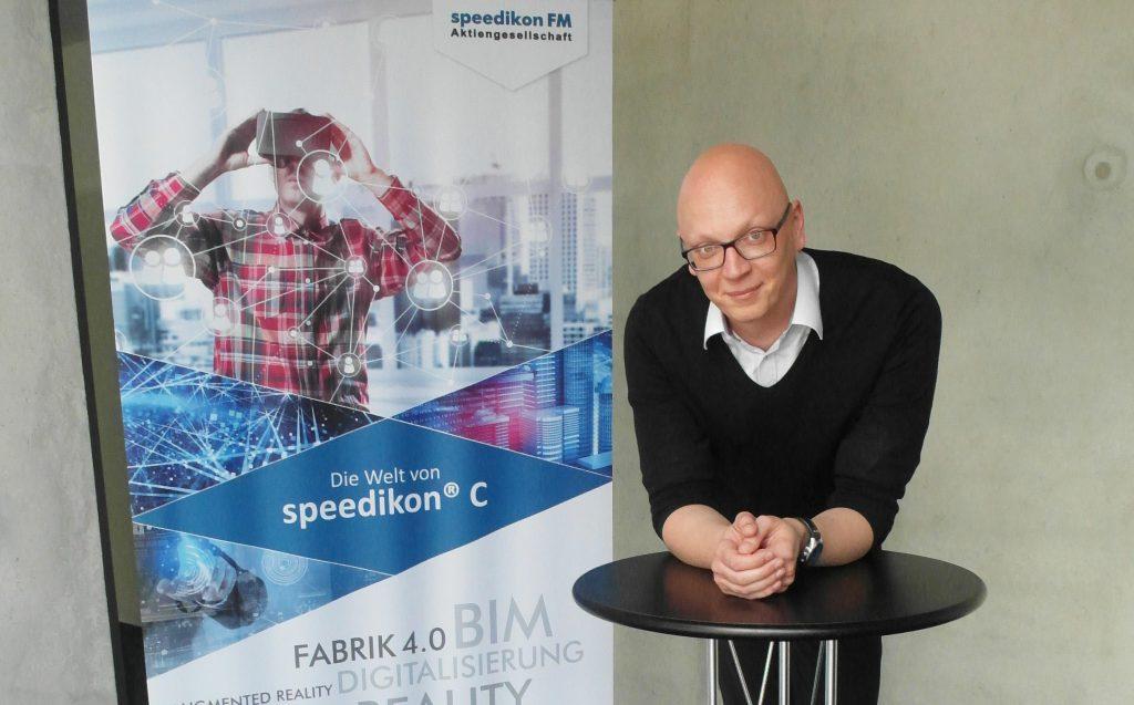 Ronny Wiesner (38), Key-Account-Manager bei speedikon, über die großen Themen der FM-Branche und warum er sich als Berliner an der Bergstraße richtig wohlfühlt.